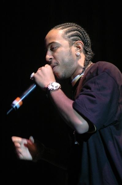 Cornrows Frisur von Ludacris