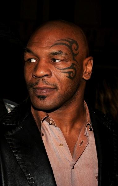 Glatze Mike Tyson