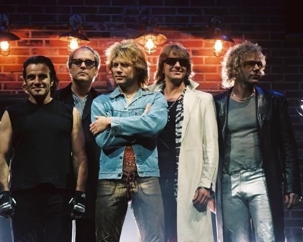 Haartrends Männer der Band Bon Jovi