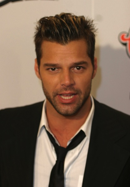 Kurzhaarfrisuren Fotos - Ricky Martin