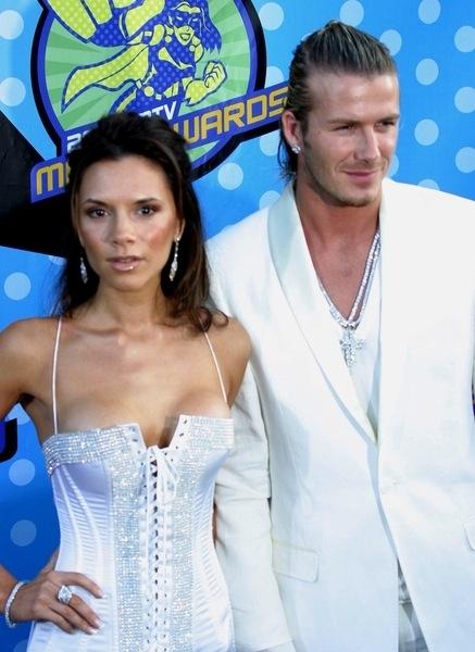 Langhaarschnitt - David Beckham