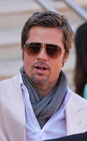 Männerfrisur kurz - Brad Pitt