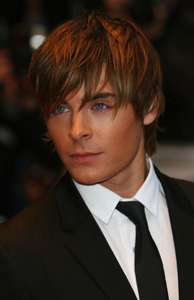 Pony Frisuren - Zac Efron