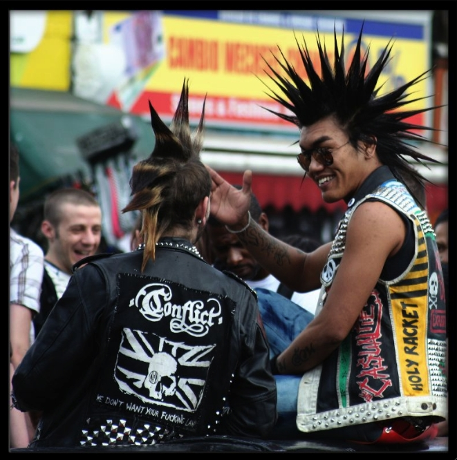 Punk Frisur  Foto Von Carrentempler
