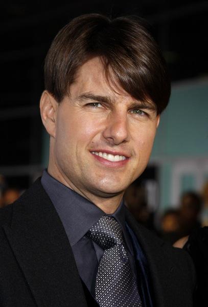 Trendfrisuren für den Mann Tom Cruise