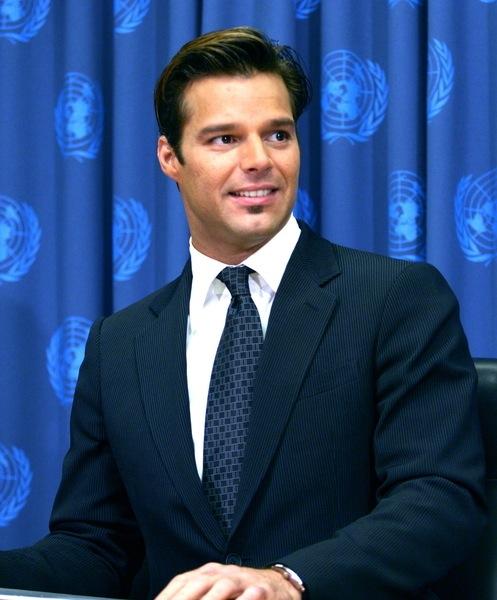 Trendfrisuren kurz von Ricky Martin