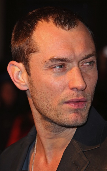 trendrisuren Mann -Jude Law
