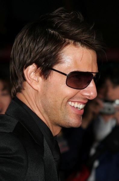 ausgefallene Kurzhaahrfrisuren von Tom Cruise