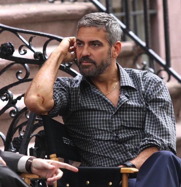 Kurzhaarschnitt Fotos Von George Clooney Mannerfrisuren