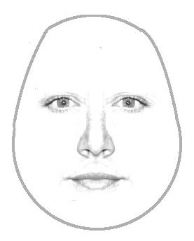dreieckiges Gesicht