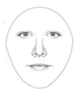 herzförmiges Gesicht