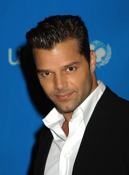 kurze Trendfrisuren - Ricky Martin