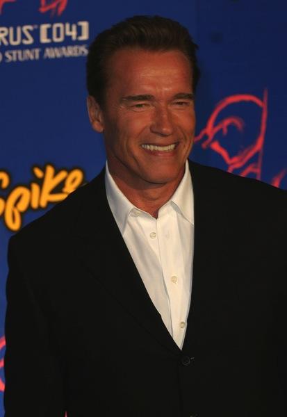 Bürstenfrisur von Arnold Schwarzenegger