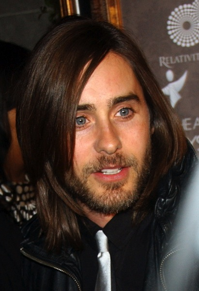 m nnerfrisuren lang von jared leto m nnerfrisuren. Black Bedroom Furniture Sets. Home Design Ideas